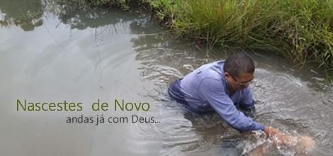 Batismo em Fortaleza - Janeiro de 2018