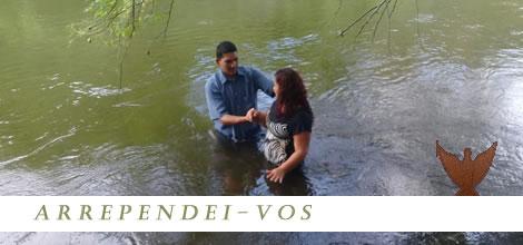 Batismo na cidade de Três Coroas - 30 de Março de 2019